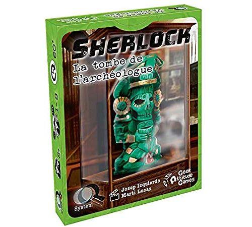 Sherlock - La Tombe de l'Archéologue