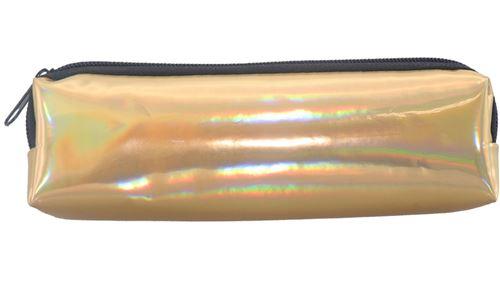 Luna porte-plume junior 19 cm or mat et brillant