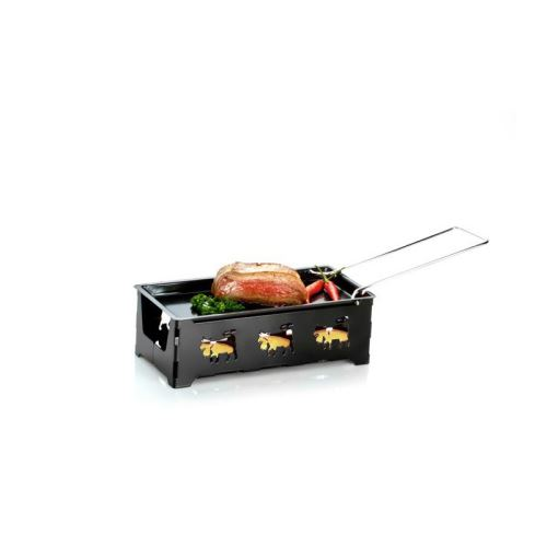 Appareil à raclette H'eat Cheese! coloris noir, 1 ou 2 personnes