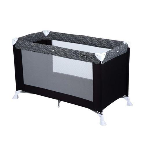 Safety 1st Lit de voyage pour bébé Soft Dreams Noir et gris
