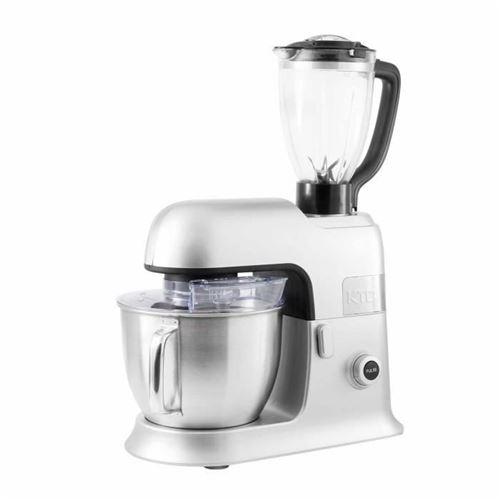 KitchenCook EXPERT_XL - Robot pâtissier - 1300 Watt - argent