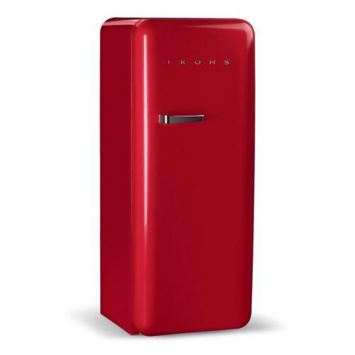 RETRO FRIDGE 150 ROUGE - Réfrigérateur