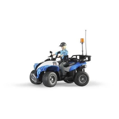 Bruder Quad with Policewoman Accessories