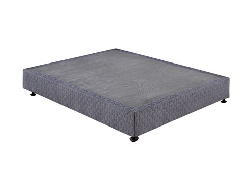 Sommier UNIVERSEL de DREAMEA PLAY - 140x190cm - gris anthracite