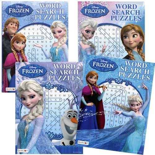 Frozen Word Search Puzzle x 4