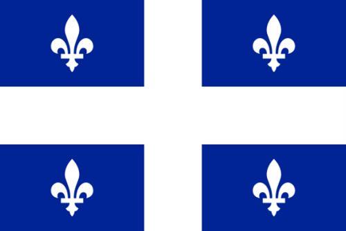 Drapeau Quebec québécois 90 x 150 cm
