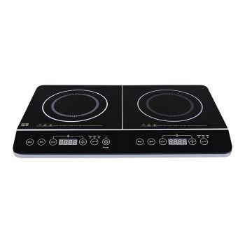 silver style 001182 table de cuisson induction 2 feux 3500w achat prix fnac. Black Bedroom Furniture Sets. Home Design Ideas