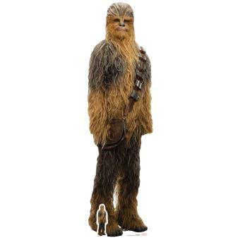 Star découpes Chewbacca (Star Wars : The Last Jedi) Multicolore