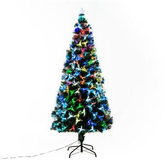 Sapin De Noël Artificiel Lumineux Fibre Optique Led
