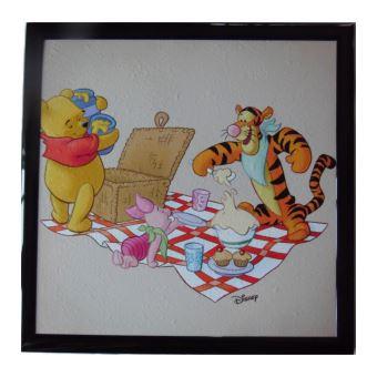 Tableau Winnie Lu0027ourson, Tigrou Et Porcinet Disney Cadre 23 X 23 Cm Chambre    Accessoire Tableau Et Pupitre (divers)   Achat U0026 Prix | Fnac