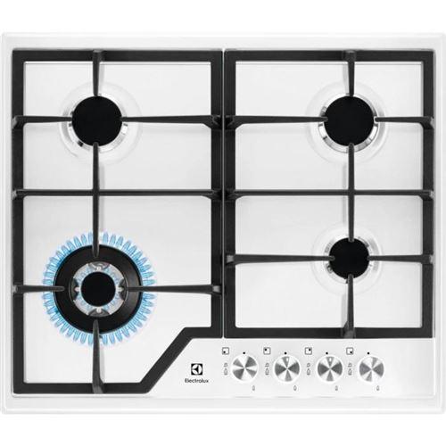 Electrolux egs6436ww plaque intégré cuisinière à gaz blanc
