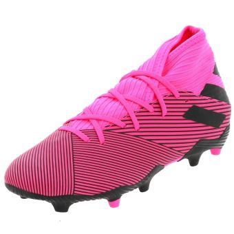 Chaussures football lamelles Adidas Nemeziz 19.3 fg h rose Rose taille : 42 réf : 48283