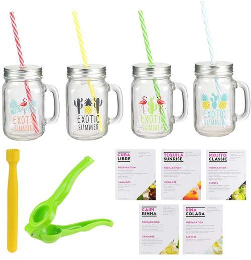 Pick & Drink - Coffret préparation cocktail accessoires et recettes