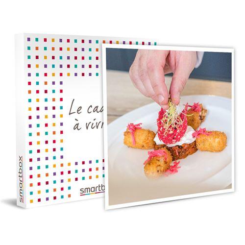 SMARTBOX - Repas menu Découverte pour 2 personnes réalisé et servi par un chef à domicile - Coffret Cadeau