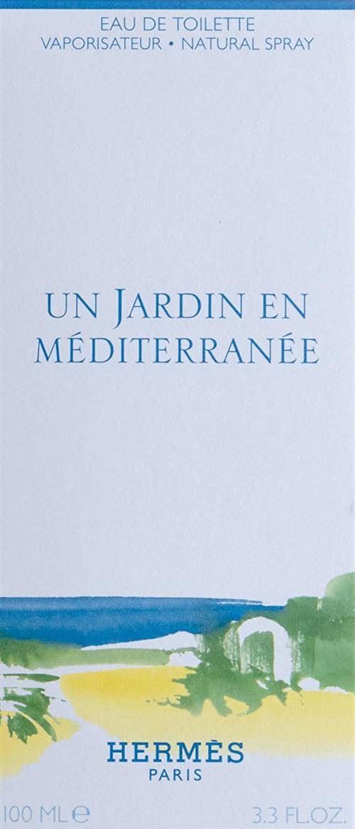 HERMES Un Jardin en Méditerranée Eau de Toilette 100 ml