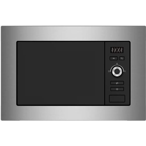 Continental Edison CEMO20IXES - Four micro-ondes monofonction - intégrable - 20 litres - 800 Watt - noir/inox