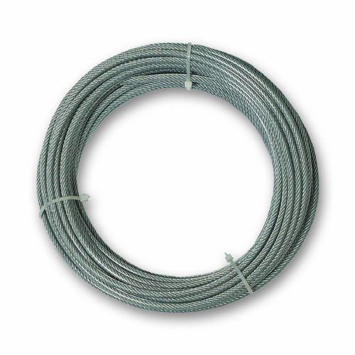Chapuis CCG620 Câble gaine pvc acier galvanise 159 kg D 4/6 mm L 20 m