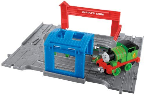 Thomas Friends Fisher-Price Take-n-Play, Percy Engine Starter Set