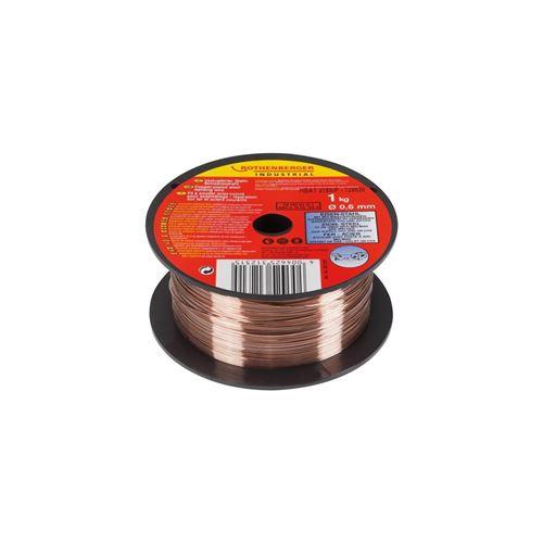 rothenberger fil a souder pour poste -acier/cuivre - 0,6mm