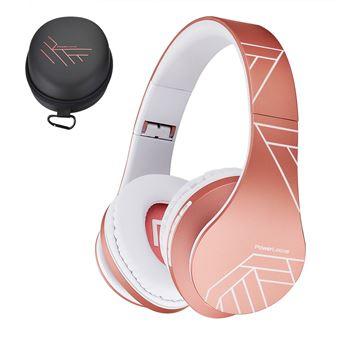 23€ sur PowerLocus Casque Audio, Bluetooth Casque Sans Fil