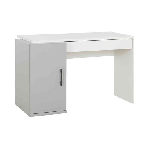 Bureau en bois gris et blanc - BU5026-1