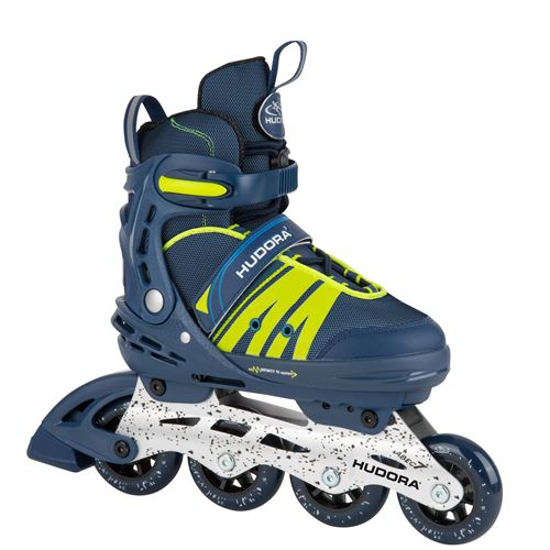 Hudora 28450 Roller Skates Inline Comfort, deep blue, point. 29-34