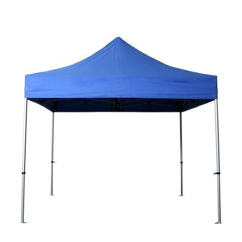 Barnum pliant 3x3m Alu 40 polyester 300g/m² pelliculé PVC Coloris Bleu Azur Coloris Bleu azur