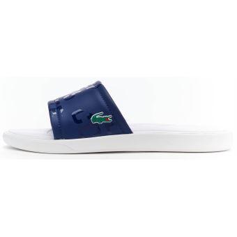 1a522e5433 Lacoste Slide L30 Slide 117 1 CAW femmes Sandales en Blanc & Navy Bleu  733CAW1047 003 [UK 3 EU 35.5] - Chaussures et chaussons de sport - Achat &  prix | ...