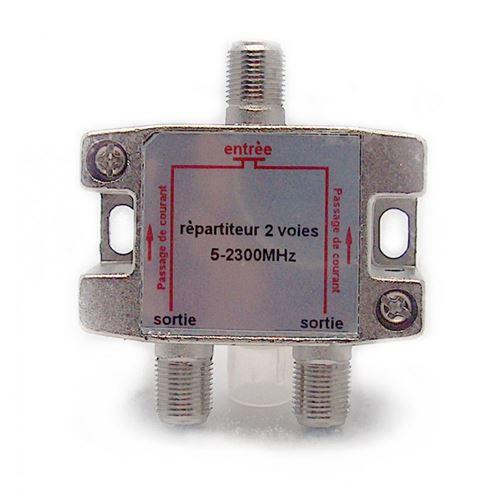 Répartiteur 2 sorties - blindé â connectique Femelle - METRONIC