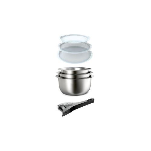 Batteries de Cuisine Inox Gris Baumalu 340977