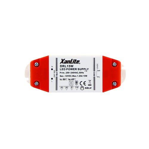 Xanlite Driver pour ampoule LED GU5.3 et G4, puissance 15W DRL15W