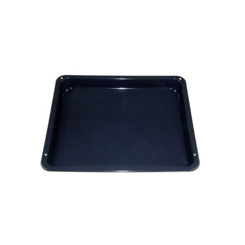 Lèche frite gris/bleu 36x42,5x4 cm pour four aeg - electrolux - zanussi