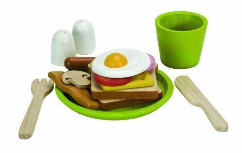 Plantoys - pt3602 - jeu dimitation - cuisine - assiette petit déjeuner
