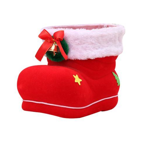 Santa Boot Chaussures Bonbons Bas Extra Large Boîte-Cadeau Décoration Actuelle Snpl271