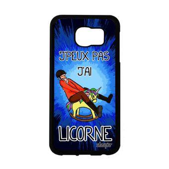 coque samsung s6 silicone licorne