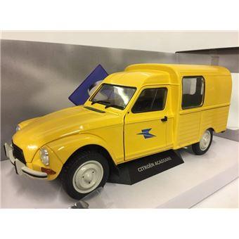 solido citroen acadiane la poste 1984 voiture miniature de collection 1800405 jaune. Black Bedroom Furniture Sets. Home Design Ideas