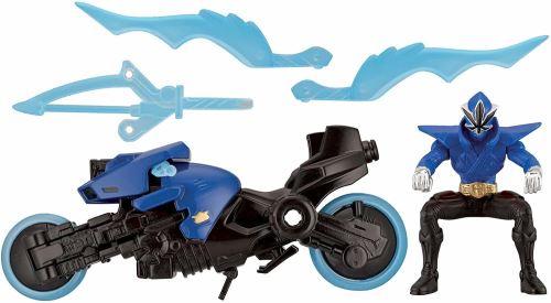 Power Rangers - 31932 - Figurine - Moto Katana - 31752 - Bleu