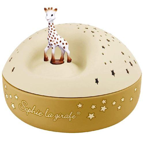 Veilleuse Projecteur d'Etoiles Musical Sophie la Girafe© Trousselier