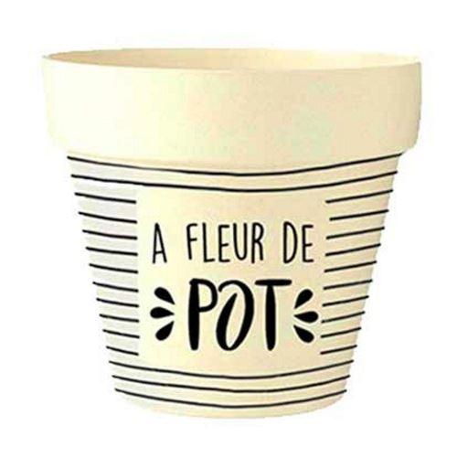 STC - Pot de Fleur en Bambou Ø 18,5 cm – À Fleur de Pot