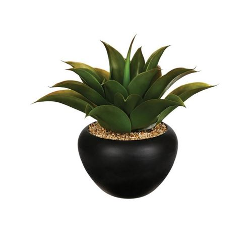 Plante Artificielle Aloe Vera 37cm Vert