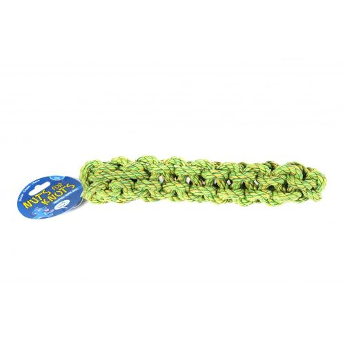 Happy Pet Nuts For Knots - Jouet corde pour chiens (29cm) (Vert) - UTBT260