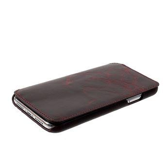 Etui en cuir véritable antique vin rouge pour votre Apple iPhone XR 6.1  pouces - Etui pour téléphone mobile - Achat   prix   fnac 88874edcee6