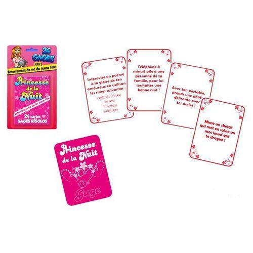 jeu de carte enterrement fille
