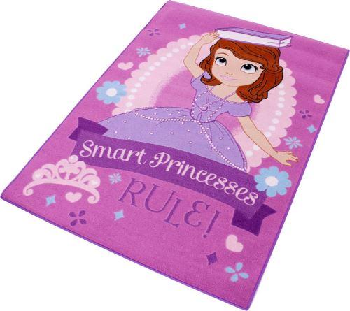 Tapis enfant Princesse Sofia 133 x 95 cm Smart