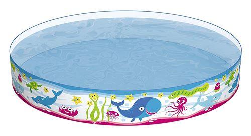 Piscine gonflable Fill'N Fun Poissons Ocean diamètre 152 h 25
