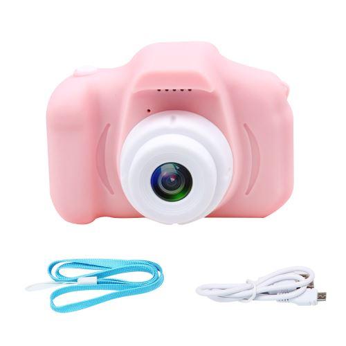 Mini appareil photo numérique X2 pour enfants Caméscopes multifonctions pour enregistrement de photo