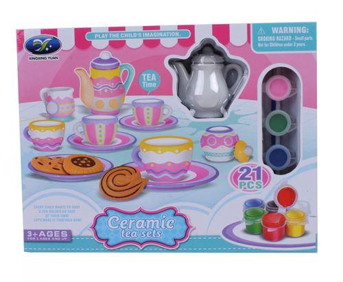LG-Imports peignez votre propre service à thé junior 25 cm