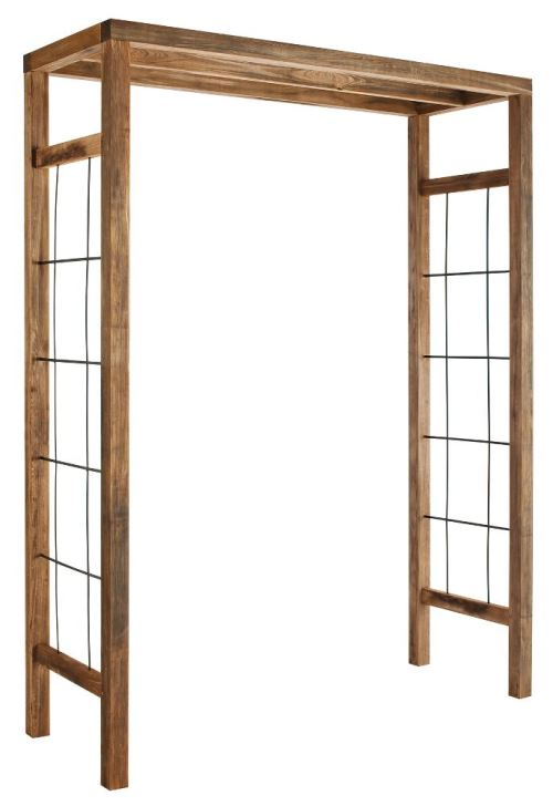 Jardipolys - Arche moderne en bois Ikebana