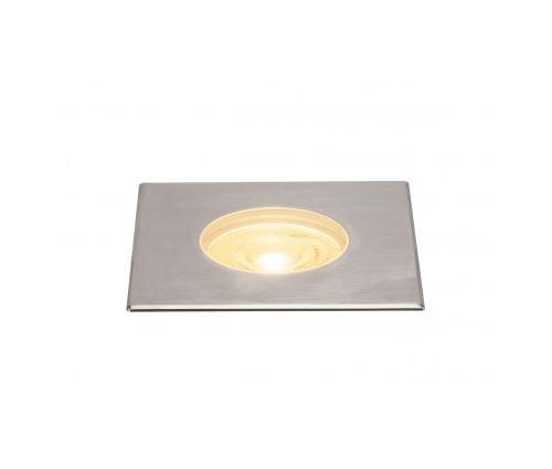 Dasar 180 premium, encastré sol, carré, 28w, 60°, 3000k, col. inox 316
