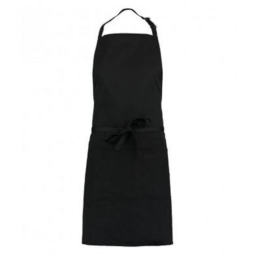 Kustom - Tablier unisexe avec poche (Taille unique) (Noir) - UTPC3159